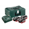 METABO BASIS SET 3 X LIHD 3,5AH + METALOC