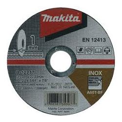 MAKITA rezný kotúč na kov 115x1x22,23mm INOX B-12217