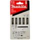 Makita A-85743 Pílové listy z rýchloreznej ocele 50mm, 5ks/bal.