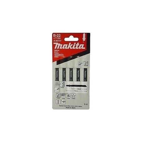 Makita A-85737 Pílové listy 50mm rýchlorezná oceľ