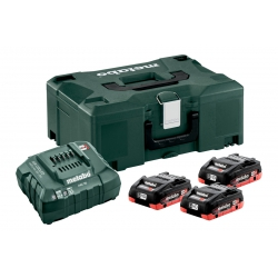 METABO BASIS-SET 3 X 4.0 AH