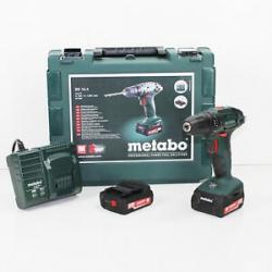 Aku vŕtací skrutkovač Metabo BS 14.4 602206510, 14.4 V, 2 Ah, Li-Ion akumulátor