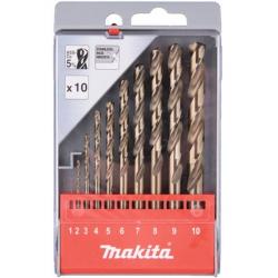 Makita D-57174 Sada vrtákov do kovu